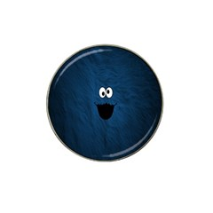 Funny Face Hat Clip Ball Marker by BangZart