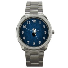 Funny Face Sport Metal Watch