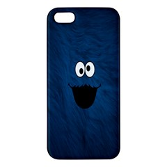 Funny Face Apple Iphone 5 Premium Hardshell Case by BangZart