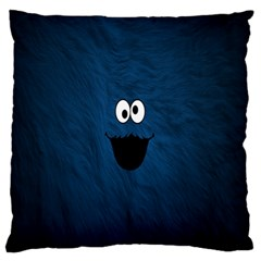 Funny Face Standard Flano Cushion Case (one Side) by BangZart