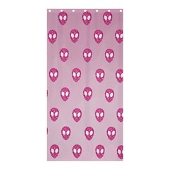 Alien Pattern Pink Shower Curtain 36  X 72  (stall)  by BangZart