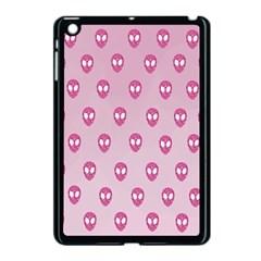 Alien Pattern Pink Apple Ipad Mini Case (black)