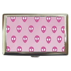 Alien Pattern Pink Cigarette Money Cases by BangZart