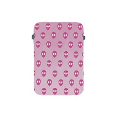 Alien Pattern Pink Apple Ipad Mini Protective Soft Cases by BangZart