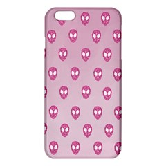 Alien Pattern Pink Iphone 6 Plus/6s Plus Tpu Case by BangZart