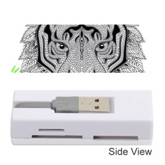 Tiger Head Memory Card Reader (stick)  by BangZart