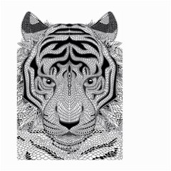 Tiger Head Large Garden Flag (two Sides)
