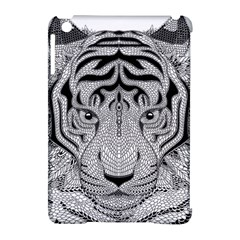 Tiger Head Apple Ipad Mini Hardshell Case (compatible With Smart Cover)
