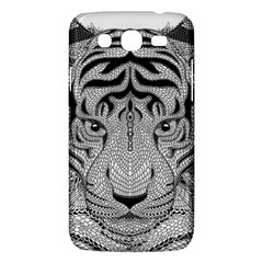 Tiger Head Samsung Galaxy Mega 5 8 I9152 Hardshell Case