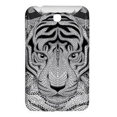 Tiger Head Samsung Galaxy Tab 3 (7 ) P3200 Hardshell Case