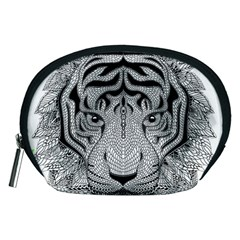 Tiger Head Accessory Pouches (medium)