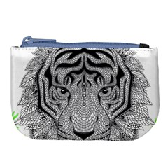 Tiger Head Large Coin Purse