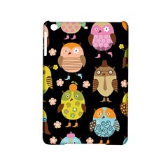 Cute Owls Pattern Ipad Mini 2 Hardshell Cases