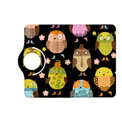 Cute Owls Pattern Kindle Fire Hd (2013) Flip 360 Case by BangZart