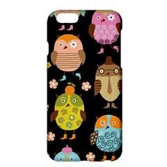 Cute Owls Pattern Apple Iphone 6 Plus/6s Plus Hardshell Case by BangZart