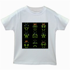 Beetles Insects Bugs Kids White T Shirts