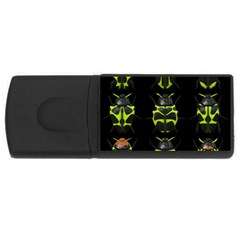 Beetles Insects Bugs Rectangular Usb Flash Drive