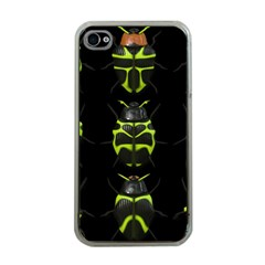 Beetles Insects Bugs Apple Iphone 4 Case (clear)