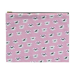 Girly Girlie Punk Skull Cosmetic Bag (xl) by BangZart