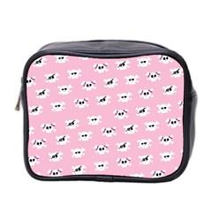 Girly Girlie Punk Skull Mini Toiletries Bag 2 Side