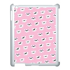 Girly Girlie Punk Skull Apple Ipad 3/4 Case (white)