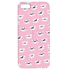 Girly Girlie Punk Skull Apple Iphone 5 Hardshell Case With Stand by BangZart