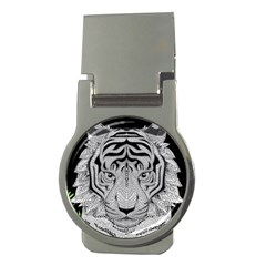 Tiger Head Money Clips (round)  by BangZart