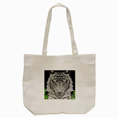 Tiger Head Tote Bag (cream)