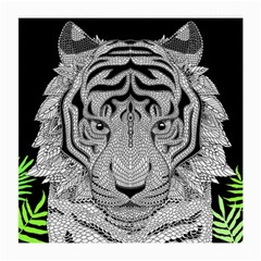 Tiger Head Medium Glasses Cloth (2 Side)