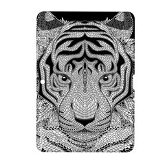 Tiger Head Samsung Galaxy Tab 2 (10 1 ) P5100 Hardshell Case
