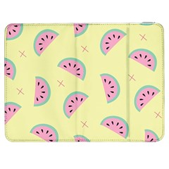 Watermelon Wallpapers  Creative Illustration And Patterns Samsung Galaxy Tab 7  P1000 Flip Case by BangZart