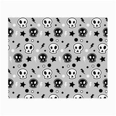 Skull Pattern Small Glasses Cloth by BangZart