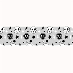 Skull Pattern Large Bar Mats by BangZart