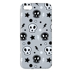 Skull Pattern Apple Iphone 5 Premium Hardshell Case by BangZart