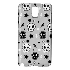 Skull Pattern Samsung Galaxy Note 3 N9005 Hardshell Case by BangZart