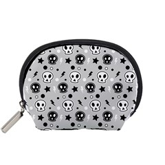 Skull Pattern Accessory Pouches (small)