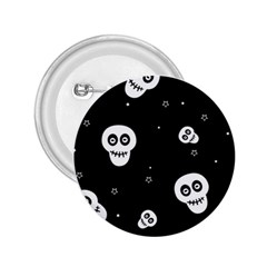 Skull Pattern 2 25  Buttons by BangZart