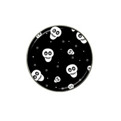 Skull Pattern Hat Clip Ball Marker (4 Pack) by BangZart