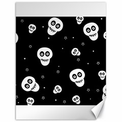 Skull Pattern Canvas 18  X 24