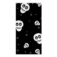 Skull Pattern Shower Curtain 36  X 72  (stall)  by BangZart