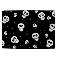 Skull Pattern Cosmetic Bag (xxl)