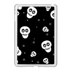 Skull Pattern Apple Ipad Mini Case (white)