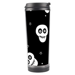 Skull Pattern Travel Tumbler by BangZart
