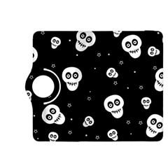 Skull Pattern Kindle Fire Hdx 8 9  Flip 360 Case by BangZart