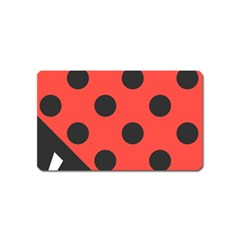 Abstract Bug Cubism Flat Insect Magnet (name Card)