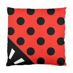 Abstract Bug Cubism Flat Insect Standard Cushion Case (two Sides)