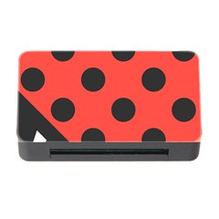 Abstract Bug Cubism Flat Insect Memory Card Reader With Cf