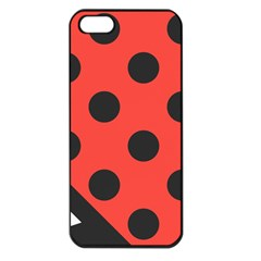 Abstract Bug Cubism Flat Insect Apple Iphone 5 Seamless Case (black)