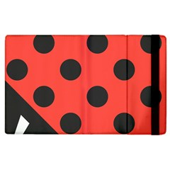 Abstract Bug Cubism Flat Insect Apple Ipad 3/4 Flip Case by BangZart