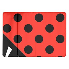 Abstract Bug Cubism Flat Insect Samsung Galaxy Tab 10 1  P7500 Flip Case